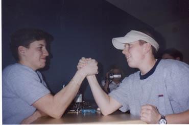 Becky and Matt; the showdown