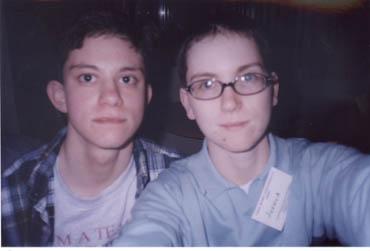 Michael and Josh
