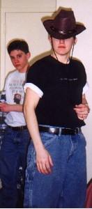 Becky shoula been a cowboy
