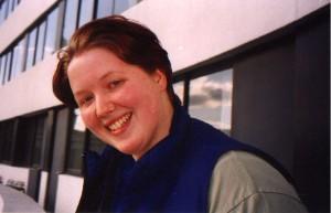 Natasha on the balcony