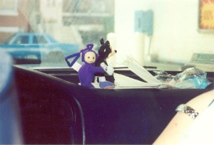 Tinky Winky loves Minnie Mouse